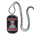 Siskiyou Buckle CTN54 Arizona Wildcats Tag Necklace