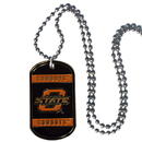 Siskiyou Buckle CTN58 Oklahoma State Cowboys Tag Necklace