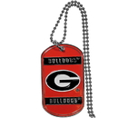 Siskiyou Buckle CTN5 Georgia Tech Yellow Jackets Tag Necklace