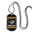 Siskiyou Buckle CTN67 Missouri Tigers Tag Necklace