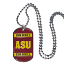 Siskiyou Buckle CTN68 Arizona St. Sun Devils Tag Necklace