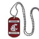 Siskiyou Buckle CTN71 Washington St. Cougars Tag Necklace