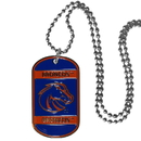 Siskiyou Buckle CTN73 Boise St. Broncos Tag Necklace