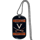 Siskiyou Buckle CTN78 Virginia Cavaliers Tag Necklace