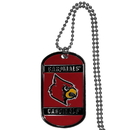 Siskiyou Buckle Louisville Cardinals Tag Necklace, CTN88