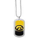 Siskiyou Buckle Iowa Hawkeyes Team Tag Necklace, CTNP52