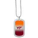 Siskiyou Buckle Virginia Tech Hokies Team Tag Necklace, CTNP61