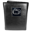Siskiyou Buckle CTR27 Penn St. Nittany Lions Deluxe Leather Tri-fold Wallet Packaged in Gift Box