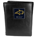 Siskiyou Buckle CTR74BX College Tri-fold Wallet Boxed- Montana St Bobcat