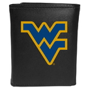 Siskiyou Buckle CTRL60 W. Virginia Mountaineers Tri-Fold Wallet Large Logo