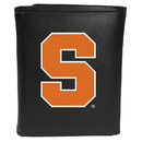 Siskiyou Buckle CTRL62 Syracuse Orange Tri-Fold Wallet Large Logo