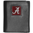 Siskiyou Buckle CTRN13 Alabama Crimson Tide Leather Tri-fold Wallet