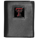 Siskiyou Buckle CTRN30 Texas Tech Raiders Leather Tri-fold Wallet