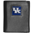 Siskiyou Buckle CTRN35 Kentucky Wildcats Leather Tri-fold Wallet