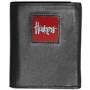 Siskiyou Buckle CTRN3 Nebraska Cornhuskers Leather Tri-fold Wallet