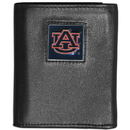 Siskiyou Buckle CTRN42 Auburn Tigers Leather Tri-fold Wallet