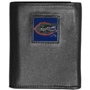 Siskiyou Buckle CTRN4 Florida Gators Leather Tri-fold Wallet