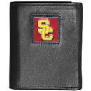 Siskiyou Buckle CTRN53 USC Trojans Leather Tri-fold Wallet