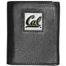 Siskiyou Buckle CTRN56 Cal Berkeley Bears Leather Tri-fold Wallet