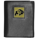 Siskiyou Buckle CTRN57 Colorado Buffaloes Leather Tri-fold Wallet