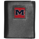 Siskiyou Buckle CTRN59 Mississippi Rebels Leather Tri-fold Wallet