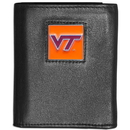 Siskiyou Buckle CTRN61 Virginia Tech Hokies Leather Tri-fold Wallet
