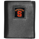 Siskiyou Buckle CTRN62 Syracuse Orange Leather Tri-fold Wallet