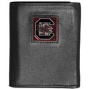 Siskiyou Buckle CTRN63 S. Carolina Gamecocks Leather Tri-fold Wallet