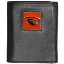 Siskiyou Buckle CTRN72 Oregon St. Beavers Leather Tri-fold Wallet