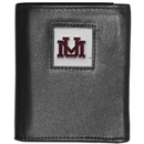 Siskiyou Buckle CTRN75 Montana Grizzlies Leather Tri-fold Wallet
