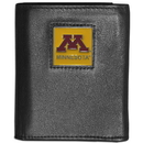 Siskiyou Buckle CTRN77 Minnesota Golden Gophers Leather Tri-fold Wallet