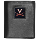 Siskiyou Buckle CTRN78 Virginia Cavaliers Leather Tri-fold Wallet