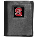 Siskiyou Buckle CTRN79 N. Carolina St. Wolfpack Leather Tri-fold Wallet