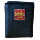 Siskiyou Buckle CTRN83 Iowa St. Cyclones Leather Tri-fold Wallet
