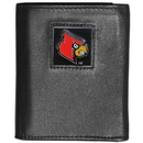 Siskiyou Buckle CTRN88 Louisville Cardinals Leather Tri-fold Wallet