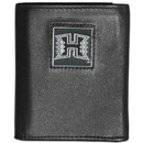 Siskiyou Buckle CTRN99 Hawaii Warriors Leather Tri-fold Wallet