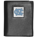 Siskiyou Buckle CTRN9 N. Carolina Tar Heels Leather Tri-fold Wallet