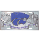 Siskiyou Buckle CVP15 Kansas St. Wildcats Collector's License Plate