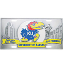 Siskiyou Buckle CVP21 Kansas Jayhawks Collector's License Plate