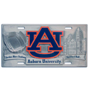 Siskiyou Buckle CVP42 Auburn Tigers Collector's License Plate