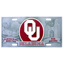 Siskiyou Buckle CVP48 Oklahoma Sooners Collector's License Plate