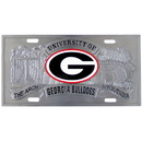 Siskiyou Buckle CVP5 Georgia Bulldogs Collector's License Plate