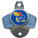Siskiyou Buckle CWBO21A Kansas Jayhawks Wall Mounted Bottle Opener