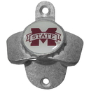 Siskiyou Buckle CWBO45 Mississippi St. Bulldogs Wall Mounted Bottle Opener