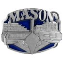 Siskiyou Buckle D80E Mason 3D Enameled Belt Buckle