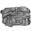 Siskiyou Buckle American Farmer Antiqued Belt Buckle, E27