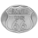 Siskiyou Buckle E3 Route 66 Antiqued Belt Buckle