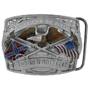 Siskiyou Buckle E45E Southern Grace of God Enameled Belt Buckle