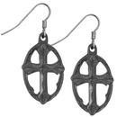 Siskiyou Buckle ER042 Cross Dangle Earrings