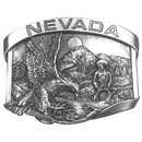 Siskiyou Buckle Nevada Belt Buckle Antiqued Belt Buckle, F23